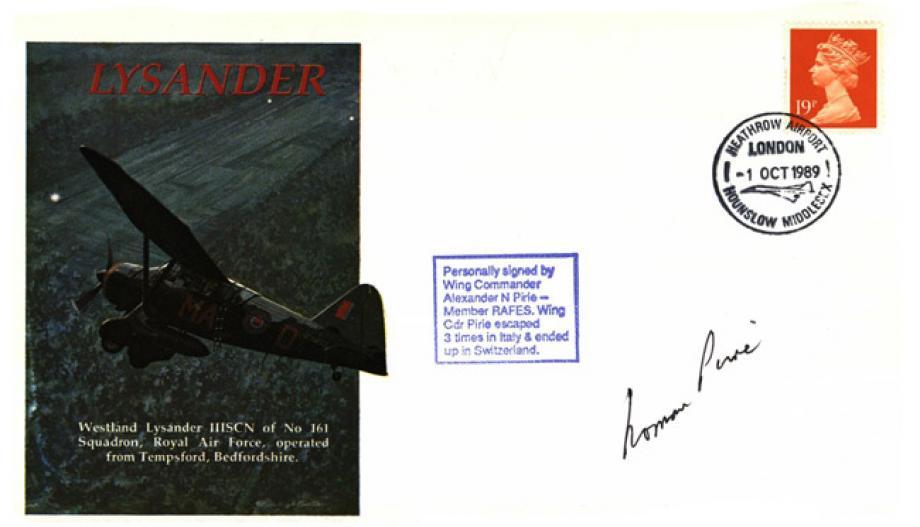 Lysander cover Sgd A N Pine