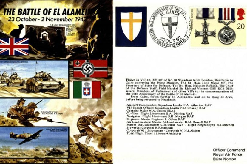 Battle Of El Alamein Cover