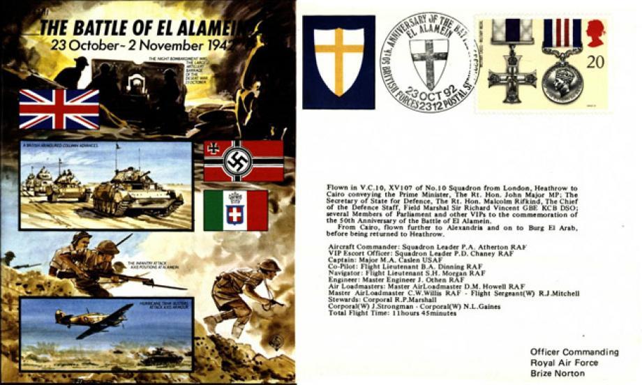 Battle Of El Alamein Cover