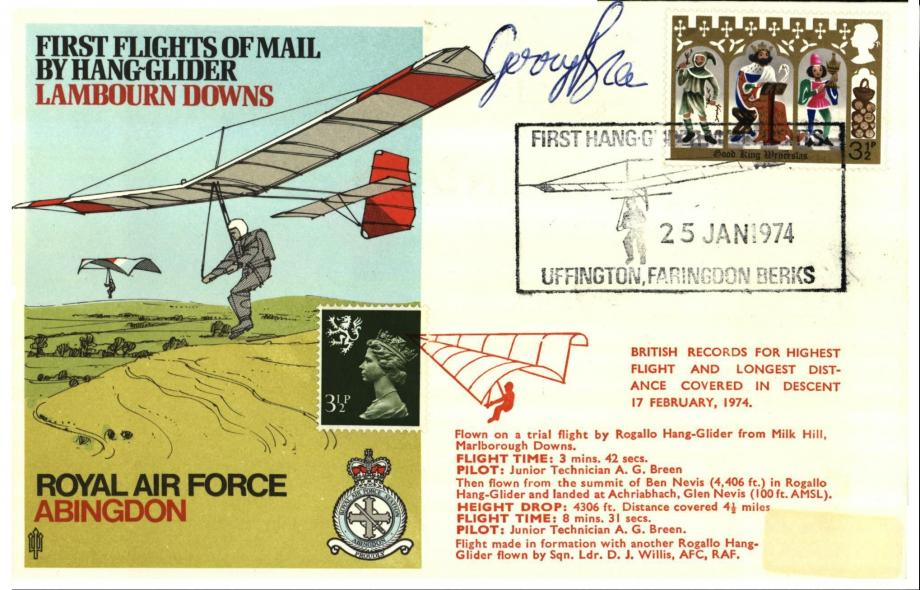 RAF Abingdon cover Sgd A G Breen