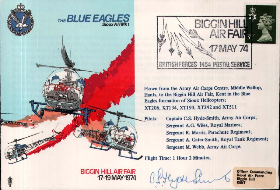 Air Displays Blue Eagles cover Sgd Captain