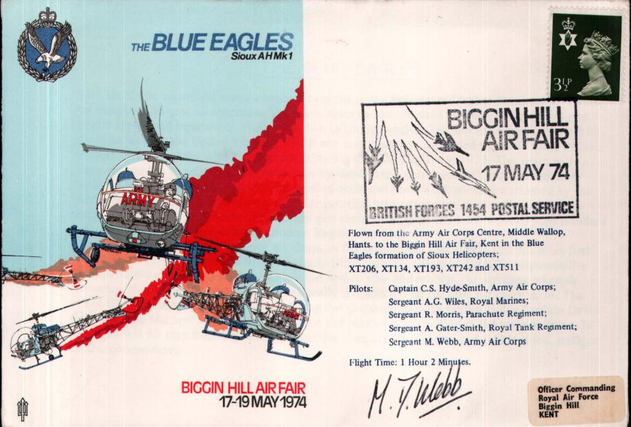 Air Displays Blue Eagles cover Sgd Pilot