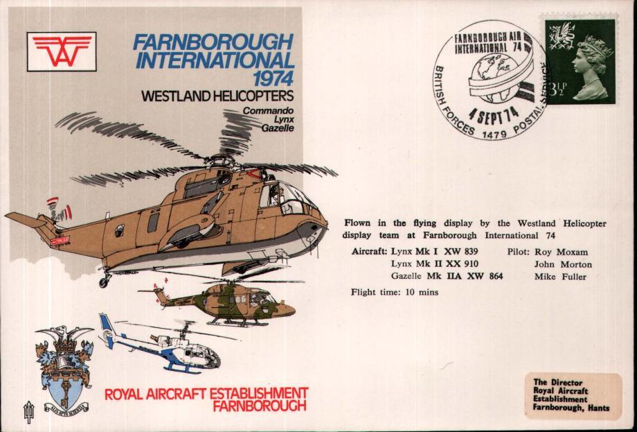 Farnborough International 1974 cover