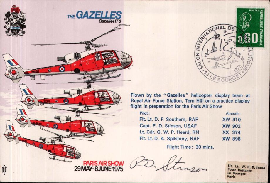 Air Displays The Gazelles cover Sgd P D Stinson