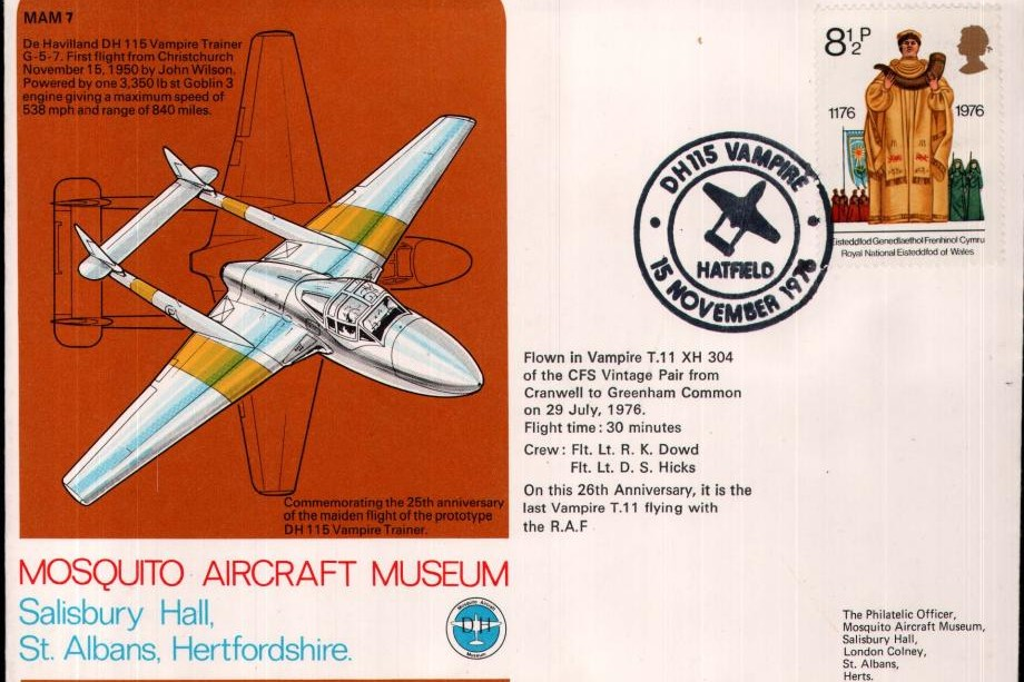 Mosquito Aircraft Museum cover