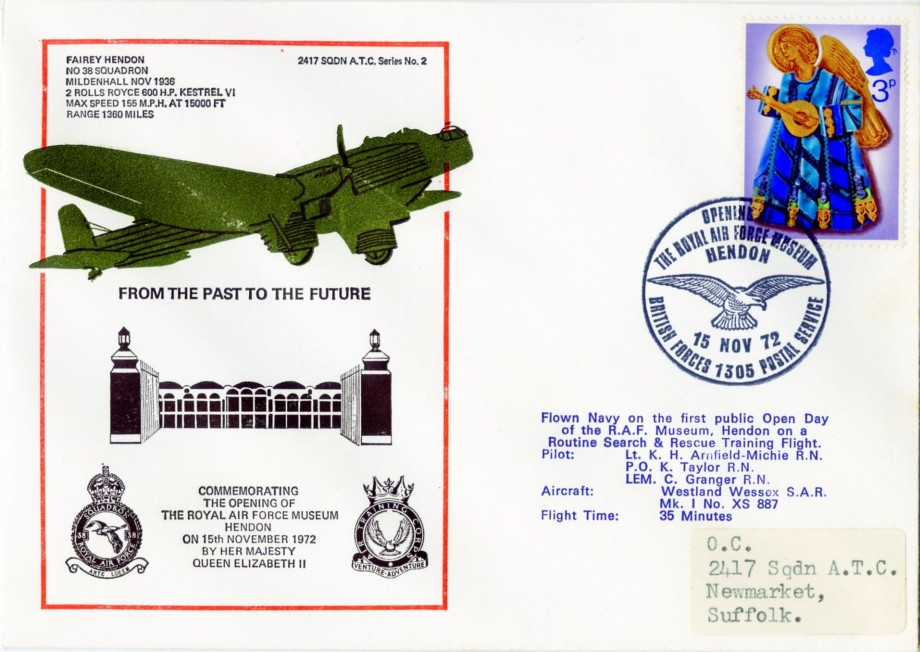 RAF Museum Hendon cover