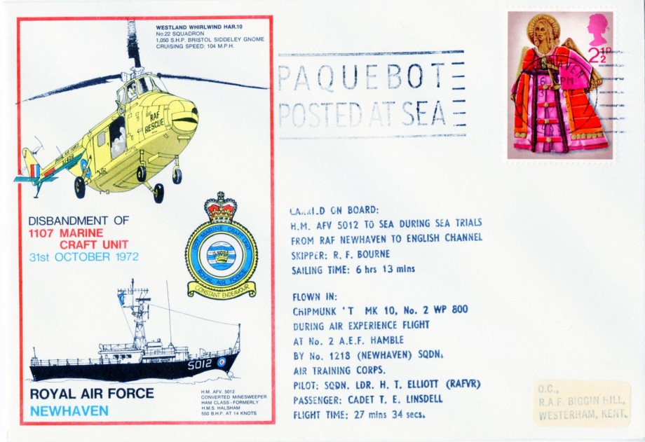 RAF Newhaven cover