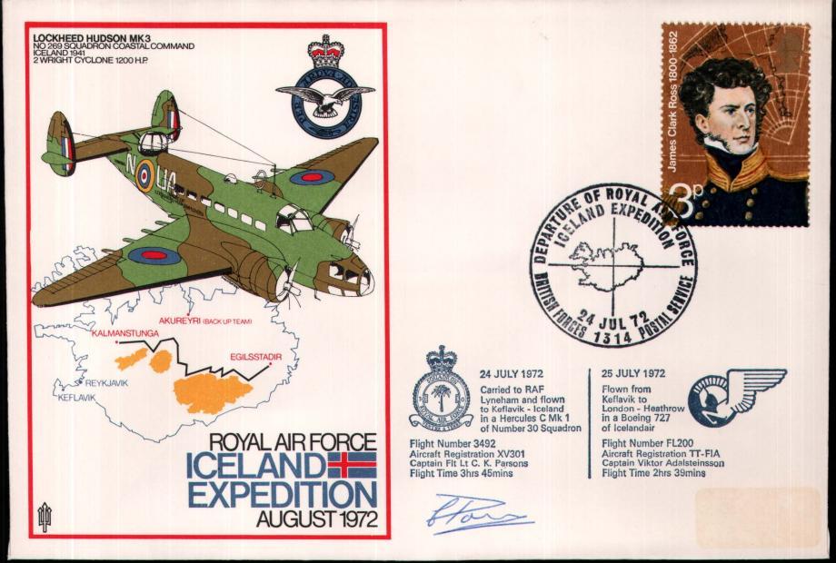 RAF Iceland cover Sgd Captain