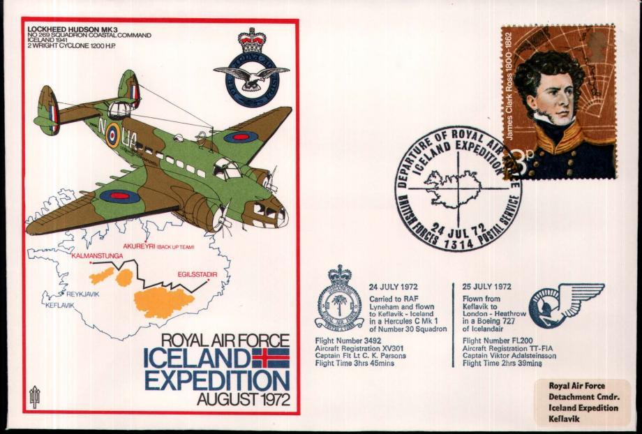 RAF Iceland cover