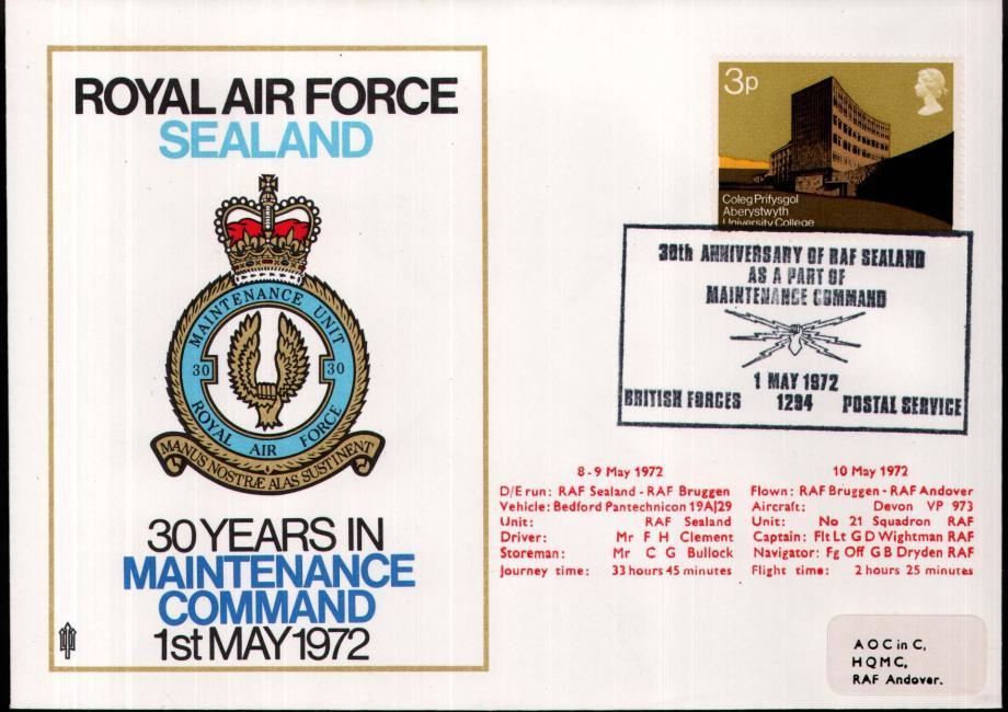 RAF Sealand cover