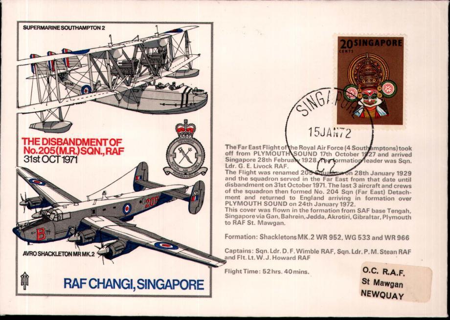 RAF Changi cover