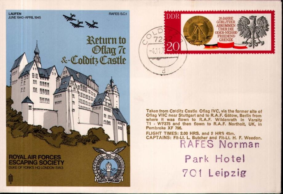 Oflag 7c and Colditz Castle cover