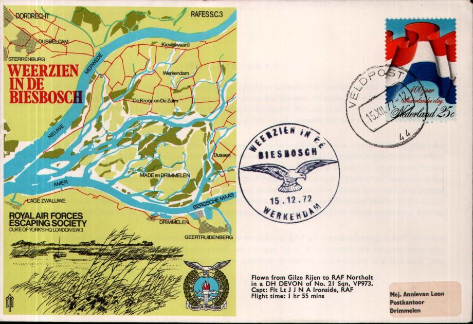 Weerzien in de Biesbosch cover