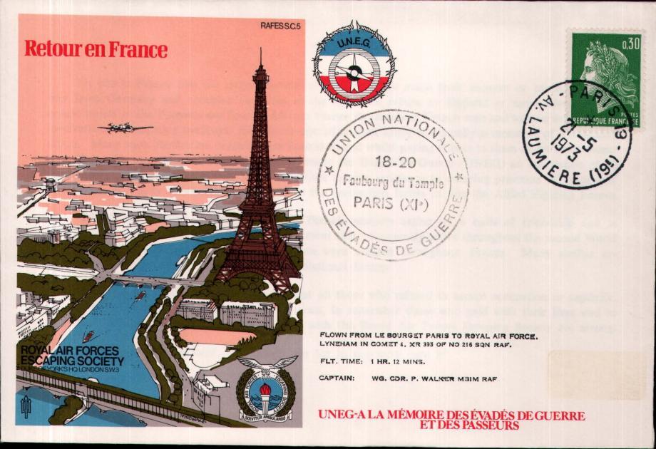 Retour en France cover