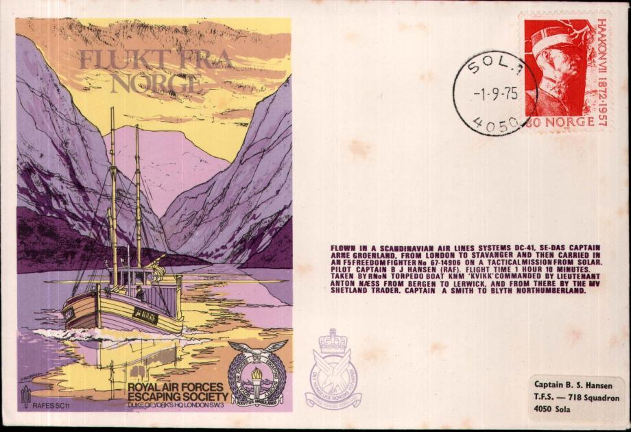 Flukt Fra Norge cover