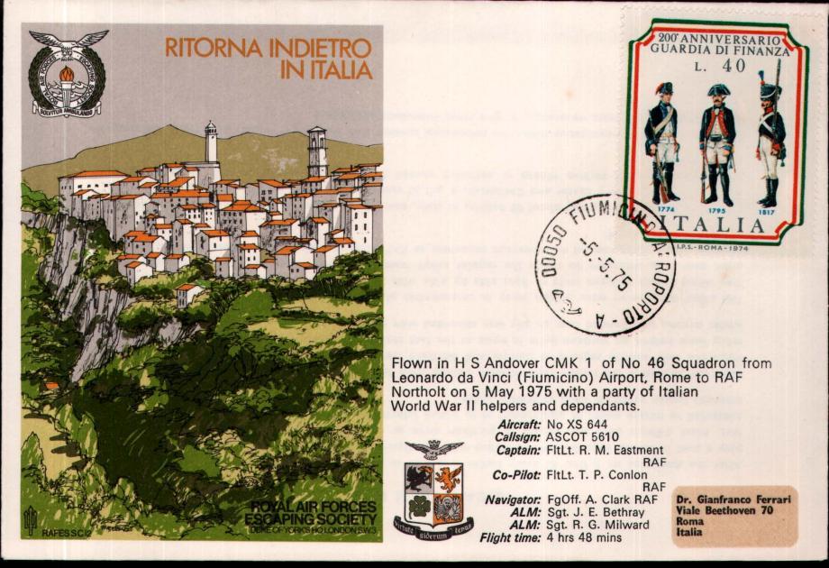 Ritorna Indietro In Italia cover