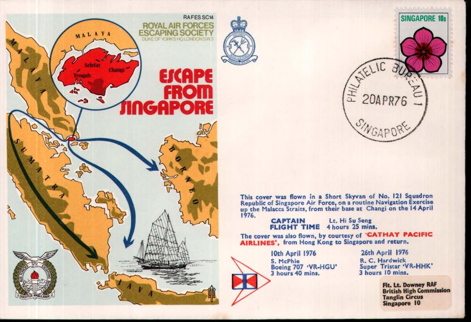 Escape from Singapore cover