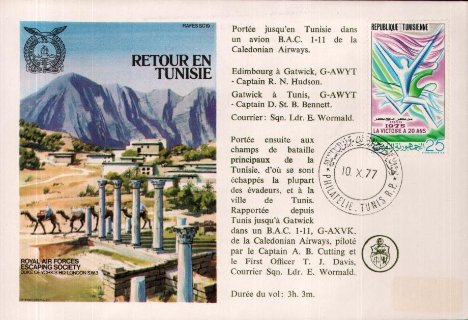 Retour en Tunisie cover