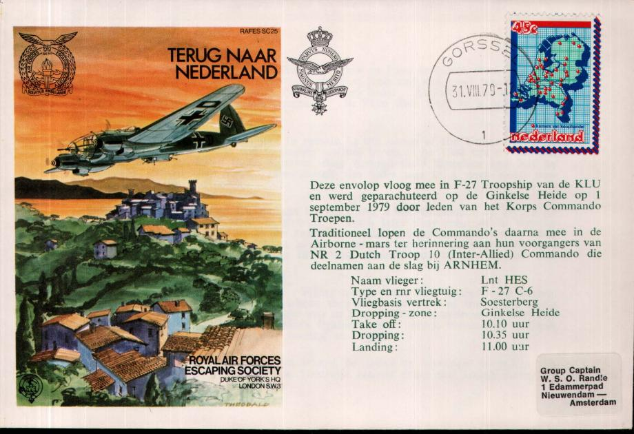 Terug Naar Nederland cover