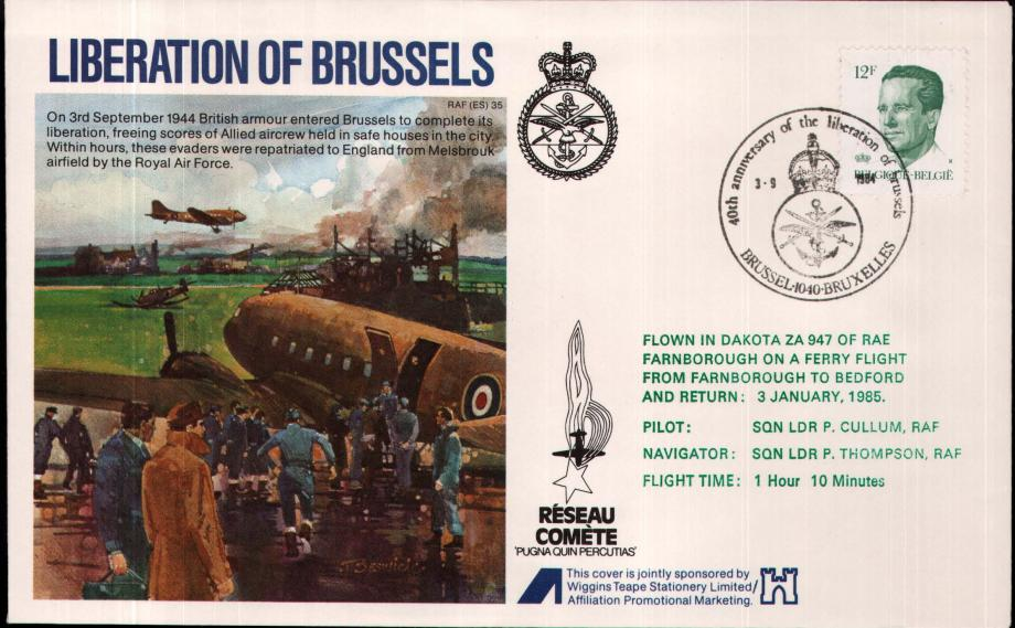 Liberation of Brussels cover