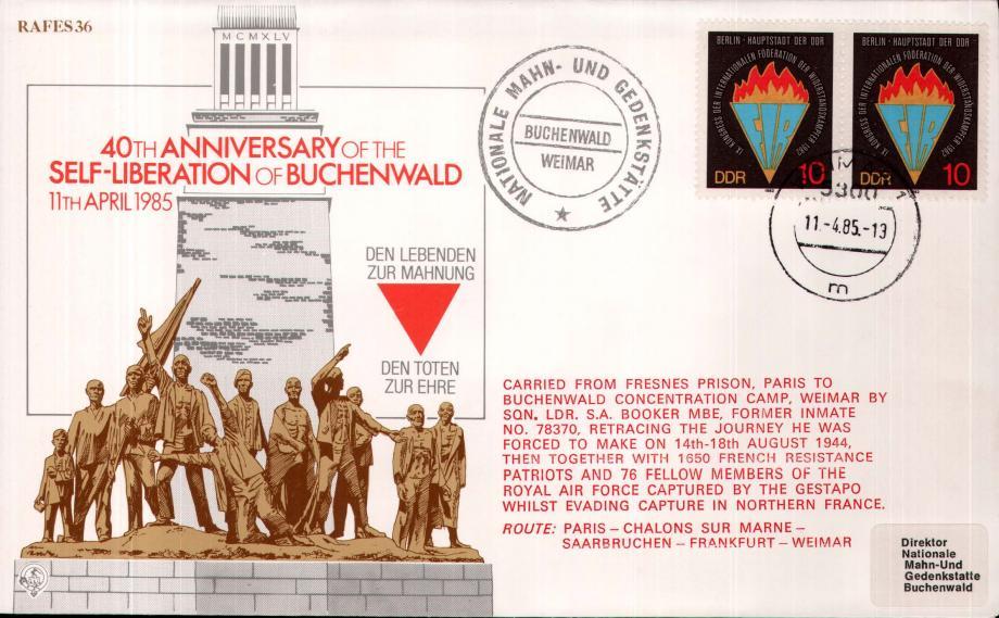 Liberation of Buchenwald cover