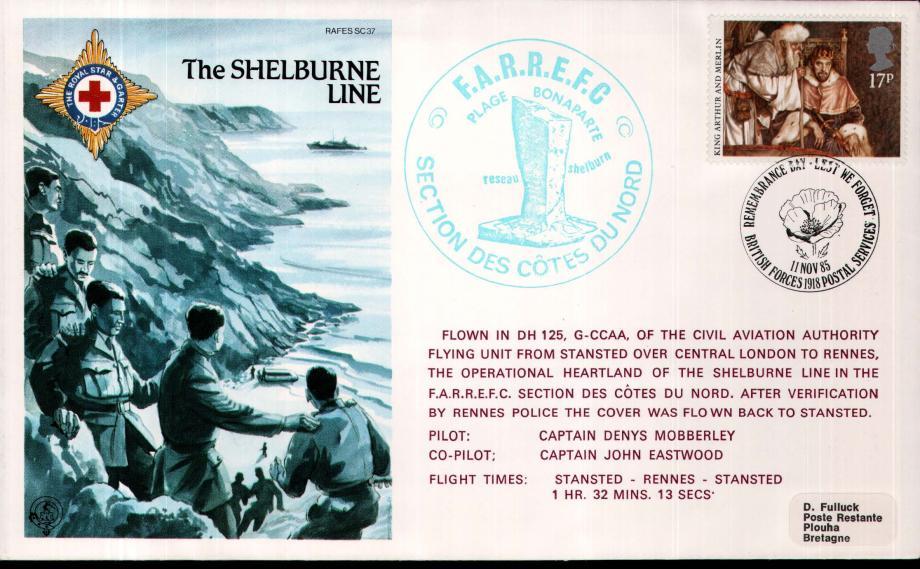 Shelburne Line cover