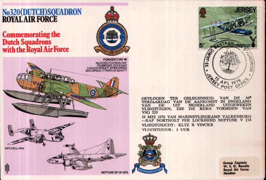 No 320 (Dutch) Squadron cover