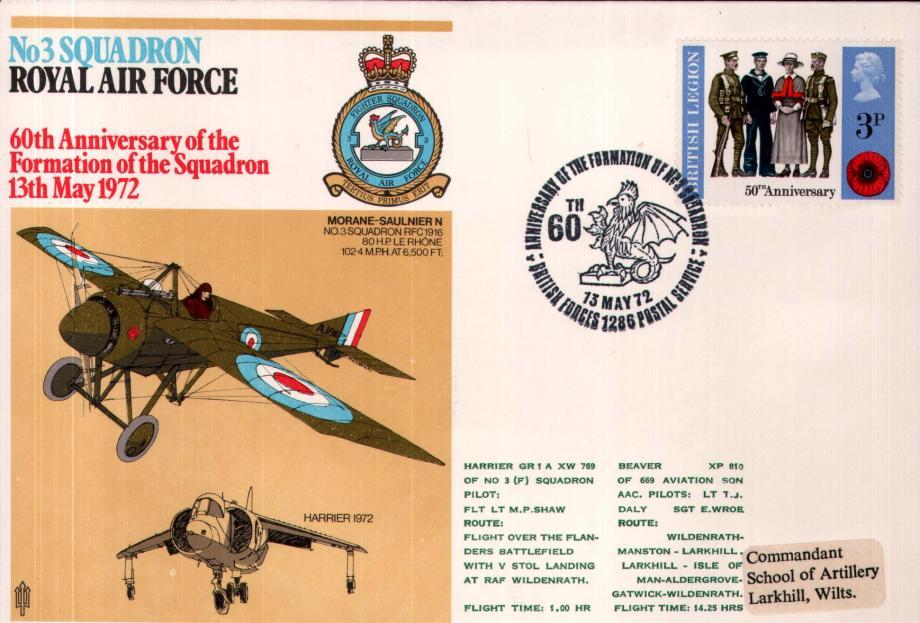 No 3 Squadron cover