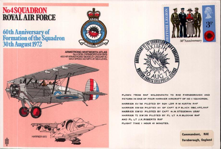 No 4 Squadron cover