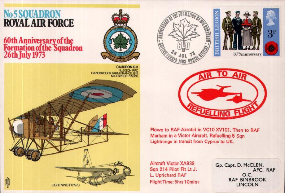 No 5 Squadron cover