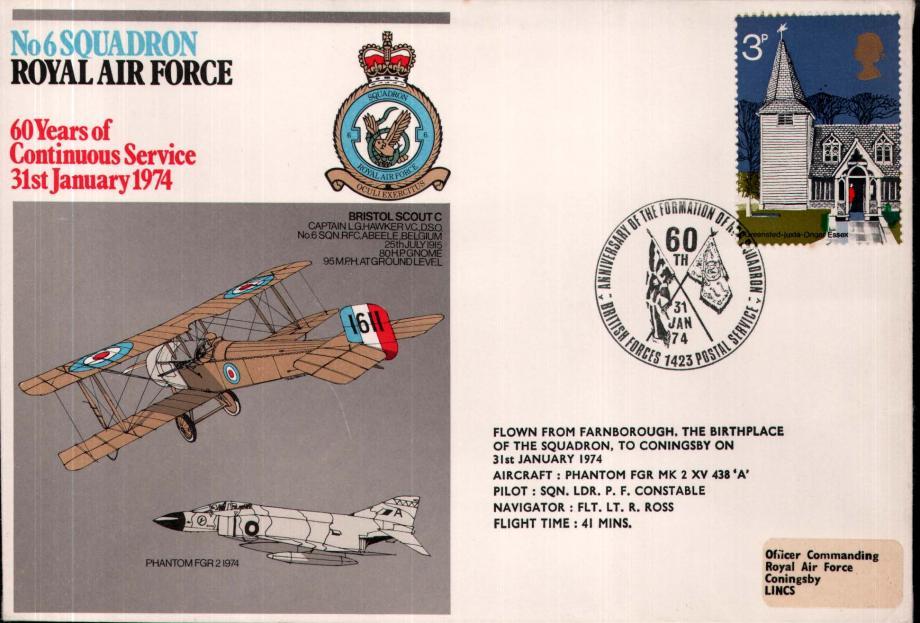 No 6 Squadron cover