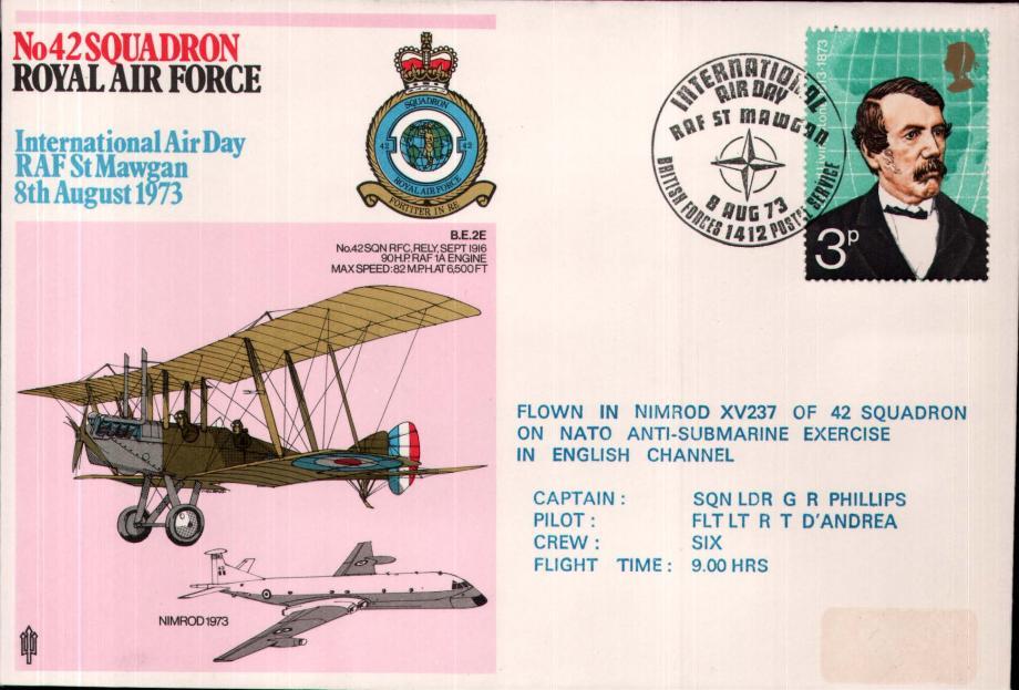 No 42 Squadron cover