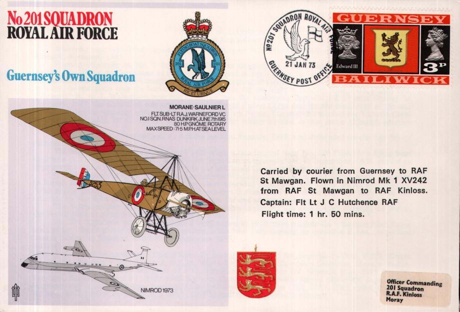 No 201 Squadron cover