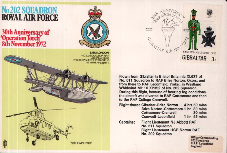 No 202 Squadron cover