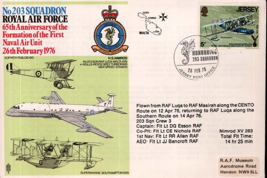 203 Squadron cover