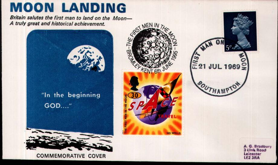 Moon Landing cover 21st July 1969