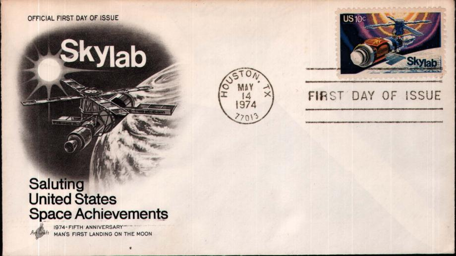 Skylab FDC 14th May 1974