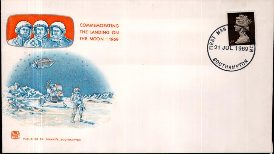 The Moon Landing cover 21st July 1969