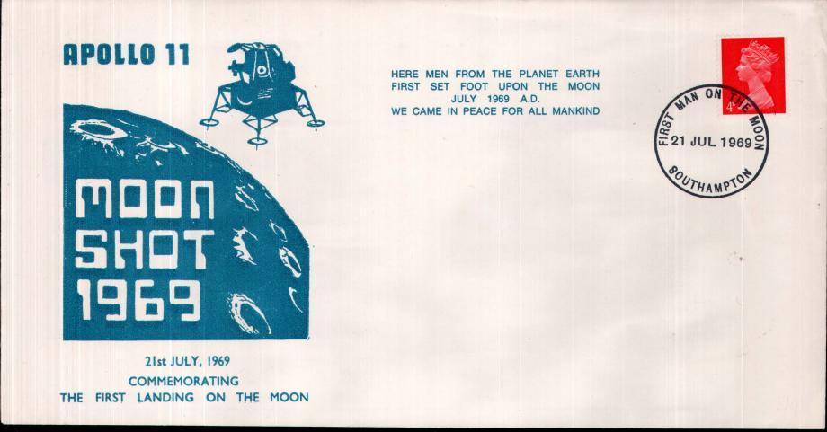 Apollo 11 Moon Landing cover