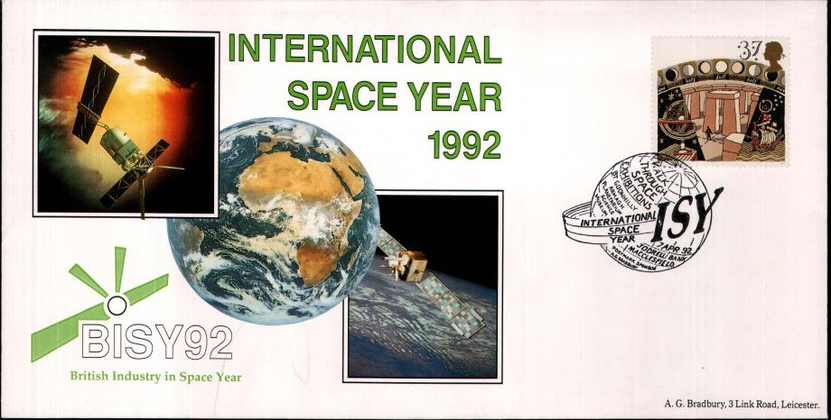 International Space Year 1992 cover