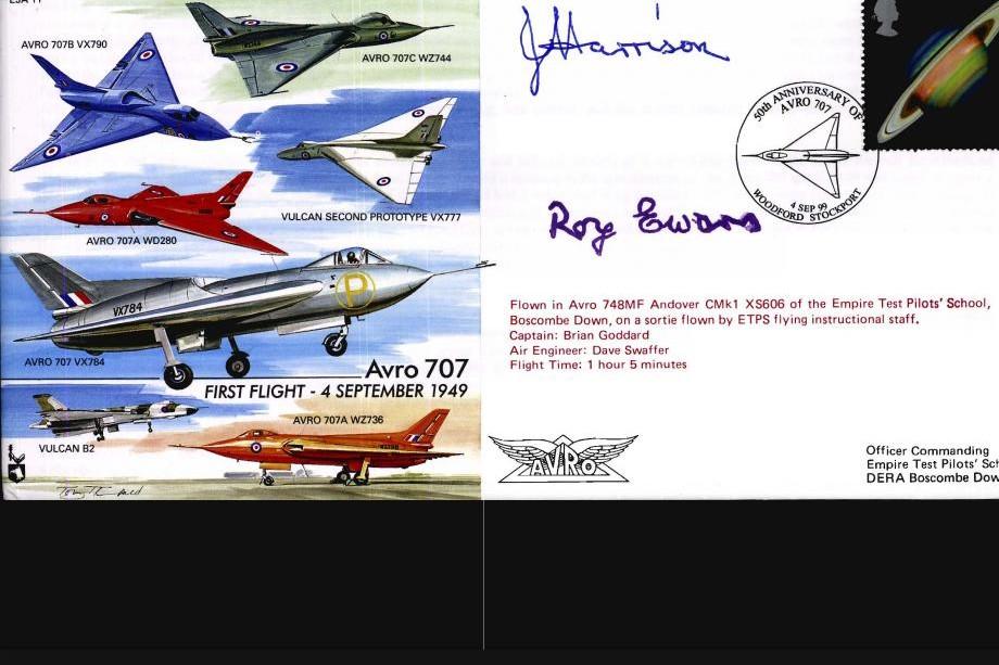 Avro 707 Cover