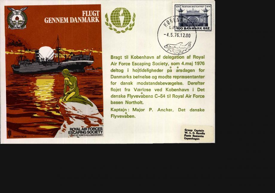 Flugt Gennem Danmark cover