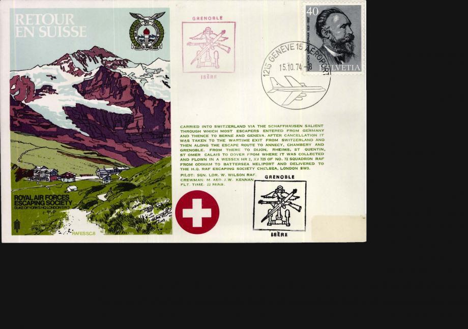 Retour en Suisse cover