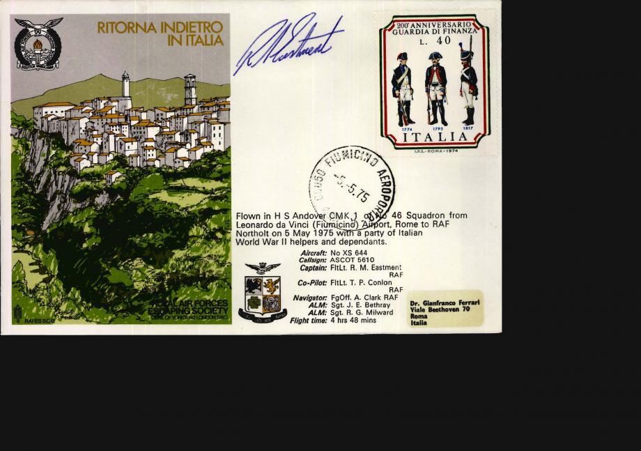 Ritorna Indietro In Italia cover Sgd pilot