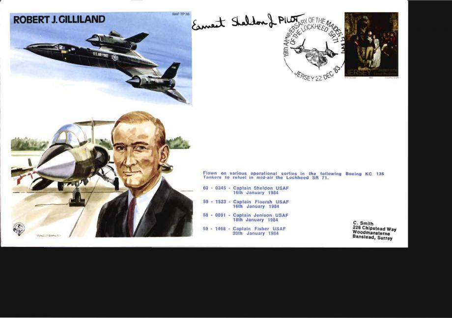 Robert J Gilliland the Test Pilot cover
